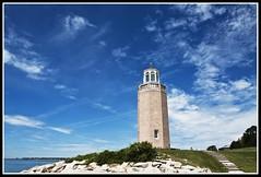 Avery Point Lighthouse, Groton, CT. (R. J. Hannapple) Tags: lighthouse seaside connecticut grotonct