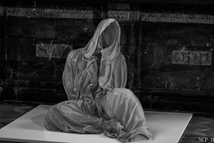 the Death of Marie (NCP_H) Tags: black white art curch canon 77d dramatic