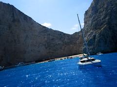 IMG_0899 (SyrianSindibad) Tags: greece zakynthos navagiobeach shipwreckbeach smugglerscove