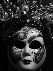 IMG_0670 (andreea_muntean) Tags: mask venice italy closeup macro blackandwhite andreeamuntean photography london indoor