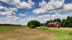 Countryside (Laurence's Pictures) Tags: east troy electric railroad museum wisconsin train trolley interuban milwaukee light we energy railfan days chicago south shore bend csssb