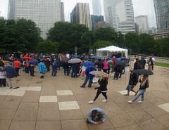 Reflecting Bean 2018 Chicago Blues Fest (garyegarye) Tags: america chicago bean