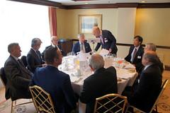 07-06-2018 Exclusive Luncheon with Secretary of State Pieter De Crem - DSC08930
