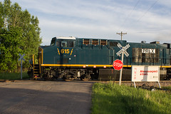PRLX 615 Hersey WI (SP Patch) Tags: ge cw46ac ac6000cw hersey wi prlx progress rail wisconsin canon eos 60d