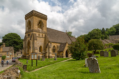 Cotswolds - Snowshill - St Barnabas Church (JimP (in Sarnia)) Tags: blue england cotswolds snowshill st barnabas church