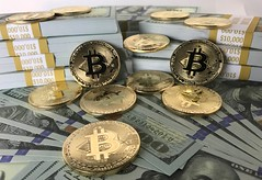 Bitcoins and Cryptocurrency coins on $10,000 straped stacks of $100 dollar bills cash money (Crypto360) Tags: bitcoin cryptocurrency crypto cryptocoin btc net pay background bank banking blockchain business cash coin coins commerce concept currency decentralized digital economy electronic eth ether ethereum exchange finance financial gold growth internet investment market mining money network online payment ripple silver stack symbol trade virtual web xrp