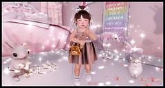 Quintessential Magic (delisadventures) Tags: secondlifefashion sec secondlife secondlifefashionblog second secondlifeblog fashino fashionblog fashion fashions toddleedoo adorable baby pink brown giraffe