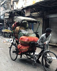 Dragging the Morn... or To Hard Jobs That Pay The Bills (Mayank Austen Soofi) Tags: dragging morn or to hard jobs that pay the bills