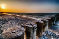 Sunset at the Beach - Zingst, Mecklenburg-Vorpommern (dejott1708) Tags: sunset beach baltic sea mecklenburgvorpommern germany ostsee deutschland fischland dars zingst sonnenuntergang strand hdr
