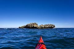 First Rock (Macr1) Tags: 61403327236 adventure ilce5100 sony sonyilce5100 sonyα5100 α5100 ©markmcintosh macr237gmailcom markmcintosh day outdoor sunny coast ocean sea firstrock kayak kayaking selp1650 sonyepz1650mmf3556oss australia wa westernaustralia phseakayaks phscorpio pacificactionsails sealisland shagislands shoalwaterbayislandsnaturereserve