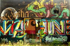 graffiti in Eindhoven (wojofoto) Tags: graffiti streetart eindhoven nederland netherland holland stepinthearena berenkuil wojofoto wolfgangjosten