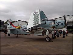 Douglas AD4N Skyraider (Aerofossile2012) Tags: douglas ad4n skyraider avion aircraft aviation laferté meeting airshow