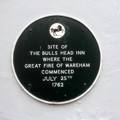 Site of the Bulls Head Inn