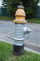 0408918fsj-22a (djfnola) Tags: davidfischer neworleans la louisiana fsj faubourgstjohn neighborhood fire hydrant vernastreet fairgrounds fence nordwco may 1908