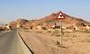 Wadi Rum Visitor Center (Wild Chroma) Tags: wadi rum visitor center wadirum desert jordan camel traffic sign