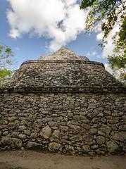 Observatory (Skulk Photography) Tags: coba mexico mayan ruins yucatan travel nature color abandoned jungle light quintanaroo cobaobservatory stone history