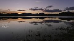 Urkulu (Raul Piki Bolukua) Tags: water sky longexposure landscape nature sunset reflections swamp euskalherria basquecountry paysbasque paísvasco aretxabaleta urkulu pantano agua paisaje