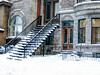 Typical Montreal in winter IMG_5336 Scène d'hiver typiquement montréalaise (Nicole Nicky, mostly off temporarily.) Tags: architecture bâtiment immeuble édifice bâtisse building montreal quebec canada winter hiver