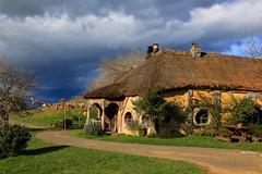 The Green Dragon Inn (YY) Tags: newzealand hobbiton movieset shire hole hobbit lordoftherings greendragoninn tavern matamata