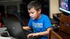 The Little Puma gamer boy (kuntheaprum) Tags: puma kevin children nikon d80 sigma 50mm f14