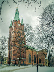 Church (RobertLyndonDavis) Tags: buildings snow scandenavia ice winter alpha sweden kiruna a7s2 nordic sony travel europe stockholm cold stockholmslän se
