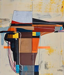 Jim Harris: Low Orbital Listening Station at Kühlungsborn Ost. (Jim Harris: Artist.) Tags: art abstract arts artist arte kunst konst künstler painting peinture lartabstrait avantgarde metaphysical métaphysique taide