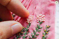 Handmade Embroidered Dresses (Ylang Garden) Tags: handmade blythe embroidery embroidered