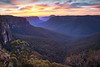 The Grose Valley || BLACKHEATH || BLUE MOUNTAINS (rhyspope) Tags: australia aussie nsw new south wales blue mountains blackheath grose valley mountain sunrise sunset view vista travel nature cliff rhys pope rhyspope canon 5d mkii