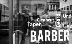 Cleancut (Howard Yang Photography) Tags: cleancut barber barbershop bw blackandwhite leicam 40mm summicronc streetphotography toronto