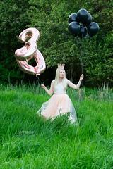 Janelle (austinspace) Tags: woman portrait spokane washington model blond blonde princess birthday crown balloon celebration mosquitoes everywhere