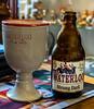 A Glass of Waterloo Dsrk Beer ( 8.5%)  Yesterday's World Shop Bar) (Bruges - Belgium) (High ISO) (Panasonic Lumix TZ200 Travel Compact) (1 of 1) (markdbaynham) Tags: bruges bruggen brugge flemish westflanders belgium beer yesterdaysworld bar drink belgiumbeer urban metropolis city citybreak panasonic lumix lumixer tz200 zs200 dmctz200 1 1inch compact travelzoom travelcompact panasonictz200 panasoniccompact
