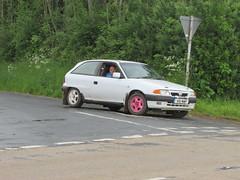 Vauxhall Astra GSi K61MWP (Andrew 2.8i) Tags: classictrackstarga event rally car cars classic classics llandysul hatch hot hatchback british opel 2000 20 gsi astra vauxhall welsh wales uk unitedkingdom