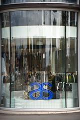 AS (Jocey K) Tags: newzealand nikond750 christchurch architecture building window shopwindow logo sign reflections cbd