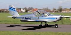 Evektor EV-97 EuroStar G-SHMI Lee on Solent Airfield 2018 (SupaSmokey) Tags: evektor ev97 eurostar gshmi lee solent airfield 2018