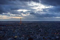 The Lights of Paris (Jannik Peters) Tags: paris night cityscape nightscape bluehour apolanthar 65mm sony a7ii voigtländer