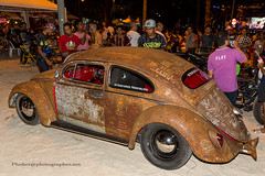 OLDTIMER CARS @ Phuket Bike Week (Phuketian.S) Tags: oldtimer car vw beetle mercedes phuket bike week patong beach cabriolet cabrio convertible jeep wagoner chevrolet apache porsche thailand people