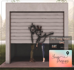 {YD} Garage Romance - Limit ({Your Dreams}) Tags: newdecortation yourdreams yourposes partner backdrop garage ironsculpture cute gacha