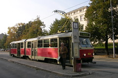 2005-10-05 Brno Tramway Nr.1024 (beranekp) Tags: czech brno tramway tram tramvaj tranvia strassenbahn šalina elektrika električka tatra 1024