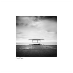 Shelter (Charlie Pragnell) Tags: squareformat longexposure fineartphotography blackwhitefineartphotography wwwcharlespragnellphotographynet noir northwales northwalescoast