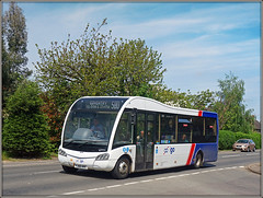 Igo`s YJ66 ANX (Jason 87030) Tags: 580 rugby coventry road dunchurch midlands warks warwickshire red white blue optare solo route 2018 roadside sony ilce alpha a6000 lens tag flickr bus may summer shot
