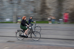 Cyclists (Timmers22) Tags: panning bike bicycle gent vlaanderen belgium be