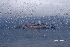 Gocce di pioggia per san Giulio (stefano.chiarato) Tags: gocce drops pioggia rain isola ortasangiulio acqua water lago lake landscape paesaggio panorami piemonte italy pentax pentaxlife pentaxk70