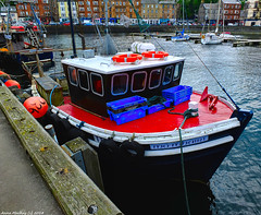 Scotland West Highlands Argyll the island of Bute a fishing trawler called Mo Mhari 26 May 2018 by Anne MacKay (Anne MacKay images of interest & wonder) Tags: scotland west highlands argyll island bute fishing trawler mo mhari dock harbour xs1 26 may 2018 picture by anne mackay