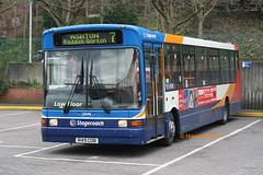 Stagecoach Manchester 33349 (R49 CDB) (SelmerOrSelnec) Tags: stagecoachmanchester dennis dart marshall r49cdb stockport bus mayne