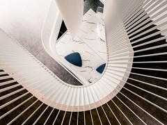 Open House Vilnius :: Green Hall Business Center No. 1 (K.H.Reichert [ not explored ]) Tags: lithuania openhouse staircase arcitecture stairs architektur litauen vilniaus atvirasnamas verslocentras laiptai laiptinė architektūra