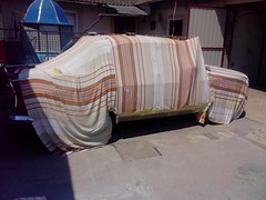 Azlk mockvich 408 covered car cover (parshin1994) Tags: carcover coveredcar azlk mockvich