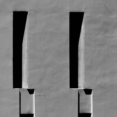 facade (morbs06) Tags: bangkok thailand abstract architecture building colour facade grey light lines minimal repetition shadow stripes texture windows