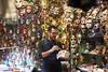 Venice Carnival (Tiziana de Martino) Tags: work man masks shop paint hand made