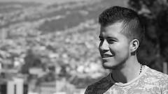 Felipe (mcg0011) Tags: blackwhite monocromatico manuelcarrasco bw young joven felipe valparaíso cerroartillería valparaísochile