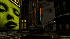 Your lips (Tevor Z) Tags: drune cyber urban secondlife billboard decay sciencefiction rp roleplay dark signs neon japan virtualworld lips mouth